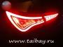 Задние диодные LED фонари Hyundai Sonata