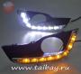 DRL- Лампы дневного света Nissan Teana J33 Type 4