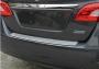 Nissan Sentra накладка на задний бампер