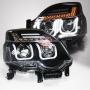 Фары Nissan X-Trail  2011+  Линза + U DRL