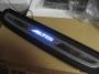 Пороги с LED подсветкой Corolla Вариант 1