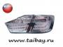 Задние диодные LED фонари Camry V50 Hybrid White