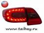Задние диодные RED LED фонари Corolla рестайлинг