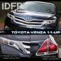 Комплект хром накладок Toyota  Venza 2011+