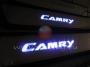 Пороги  с  Синей  LED  подсветкой Toyota Camry V55