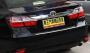 Хром на багажник Toyota Camry V55 Рестайлинг