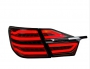Задние диодные LED фонари Camry V55 Benz Style Dark
